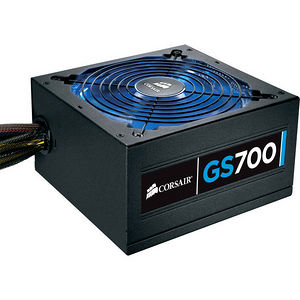 """Corsair CP-9020064-NA GS Series GS700 - 80 PLUS Bronze Certified 700W Power Supply """"2013 Edition"""""""