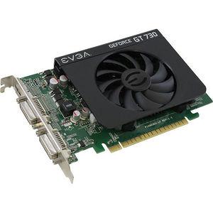 EVGA 01G-P3-2731-KR GeForce GT 730 Graphic Card - 700 MHz Core - 1 GB DDR3 SDRAM - PCIE 2.0 x16