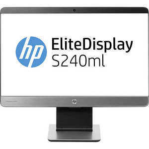 "HP F4M47A8#ABA Elite S240ml 23.8"" LED LCD Monitor - 16:9 - 7 ms"