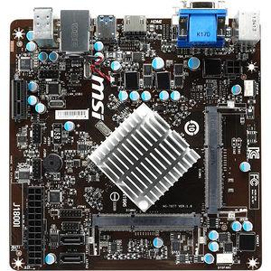MSI J1800I Desktop Motherboard - Intel Chipset - Intel Celeron J1800