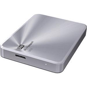 WD WDBEZW0020BSL-NESN My Passport Ultra Metal Edition 2 TB Silver - premium storage with style