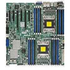 Supermicro MBD-X9DR7-LN4F-JBOD Server Motherboard - Intel C602 Chipset - Socket R LGA-2011