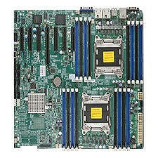 Supermicro MBD-X9DRH-IFNV-B Server Motherboard - Intel C602 Chipset - Socket R LGA-2011 - Bulk