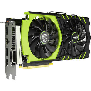 MSI GTX 960 GAMING 100ME GeForce GTX 960 Graphic Card - 1.28 GHz Core - 2 GB GDDR5 - PCI-E 3.0 x16