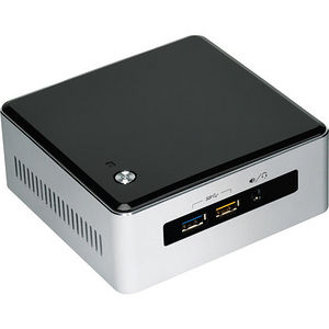 Intel BOXNUC5I7RYH NUC5I7RYH Desktop Computer - Core i7 i7-5557U 3.10 GHz DDR3L SDRAM - Mini PC