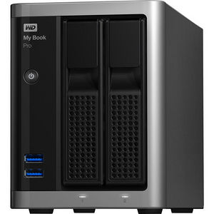 WD WDBDTB0080JSL-NESN My Book Pro 8TB dual-drive, high-speed Tbolt2, Mac OS X RAID storage