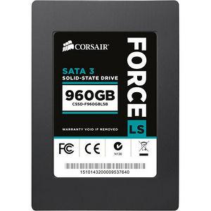 """Corsair CSSD-F960GBLSB Force LS 960 GB 2.5"""" Internal Solid State Drive - SATA"""