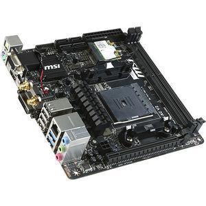 MSI A88XI AC V2 Desktop Motherboard - AMD Chipset - Socket FM2+