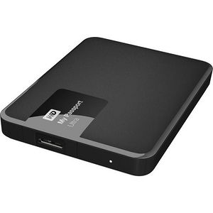 WD WDBGPU0010BBK-NESN My Passport Ultra 1TB USB 3.0 Secure portable drive with auto backup - Black