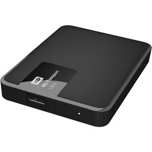 WD WDBBKD0020BBK-NESN My Passport Ultra 2TB USB 3.0 Secure portable drive - Classic Black