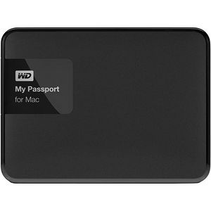 WD WDBCGL0020BSL-NESN My Passport for Mac 2 TB USB 3.0 secure portable drive with auto backup