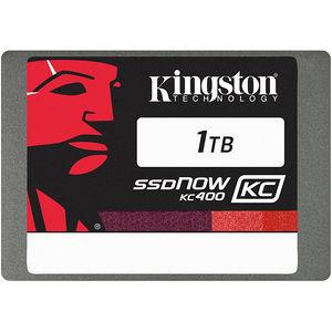 "Kingston SKC400S3B7A/1T SSDNow KC400 1 TB 2.5"" Internal Solid State Drive - SATA"