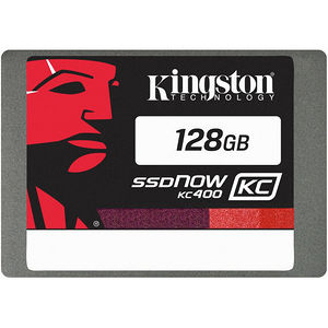 "Kingston SKC400S3B7A/128G SSDNow KC400 128 GB 2.5"" Internal Solid State Drive - SATA"
