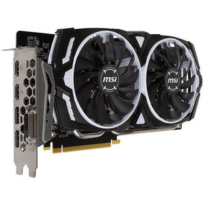 MSI GTX 1060 ARMOR6GOCV1 GeForce GTX 1060 Graphic Card - 1.54 GHz Core - 6 GB GDDR5 - PCI-E 3.0 x16