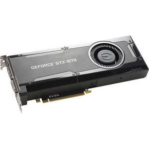 EVGA 08G-P4-5170-KR GeForce GTX 1070 Graphic Card - 1.51 GHz Core - 8 GB GDDR5 - Dual Slot