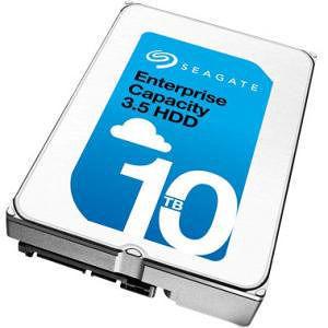 """Seagate ST10000NM0016 10 TB - SATA - 3.5"""" - 256 MB - 7200 RPM Hard Drive"""