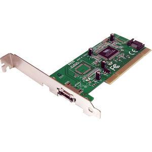 StarTech PCIESATA2I 1 Port eSATA + 1 Port SATA PCI SATA Controller Card w/ LP Bracket