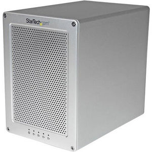 StarTech S354SMTB2R 4-Bay Thunderbolt 2 Hard Drive Enclosure with RAID