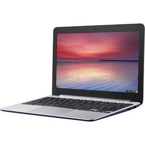 "ASUS C201PA-DS02 Chromebook 11.6"" LCD Chromebook - Rockchip Cortex A17 RK3288-C 4 Core - 4 GB"