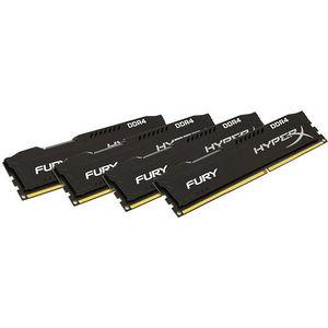 Kingston HX421C14FB2K4/32 FURY Memory Black - 32GB Kit (4x8GB) - DDR4 2133MHz CL14 DIMM
