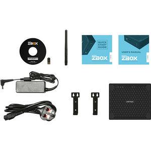 ZOTAC ZBOX-CI543NANO-U ZBOX nano - Intel Core i5 (6th Gen) i5-6200U 2.30 GHz DDR3L SDRAM - Mini PC