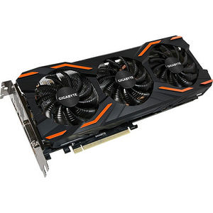 GIGABYTE GV-N1080WF3OC-8GD GeForce GTX 1080 Graphic Card - 1.66 GHz Core - 8GB GDDR5X - PCIE 3.0x16