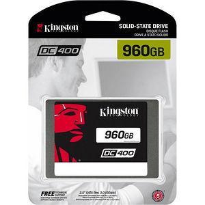 "Kingston SEDC400S37/960G SSDNow DC400 960 GB 2.5"" Internal Solid State Drive - SATA"