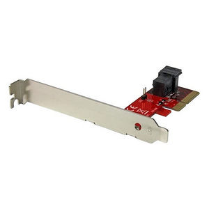 "StarTech PEX4SFF8643 x4 PCIe to SFF-8643 Adapter for NVMe U.2 SSD - 2.5"" NVM Express SSD Adapter"