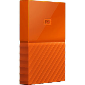 WD WDBYNN0010BOR-WESN My Passport 1 TB External Hard Drive