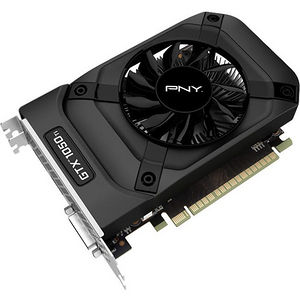 PNY VCGGTX1050T4PB GeForce GTX 1050 Ti Graphic Card - 1.29 GHz Core - 4 GB GDDR5 - PCI-E 3.0 x16
