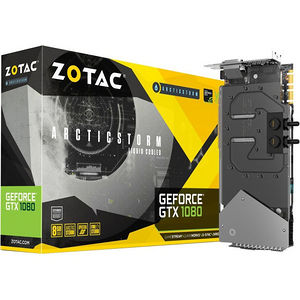 ZOTAC ZT-P10800F-30P GeForce GTX 1080 Graphic Card - 1.63 GHz Core - 8 GB GDDR5X - PCI-E 3.0