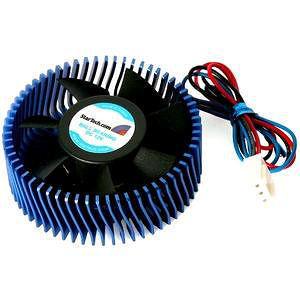 StarTech FANCSORB Aluminum Universal VGA Cooler Fan w/ Heatsink and TX3 Connector