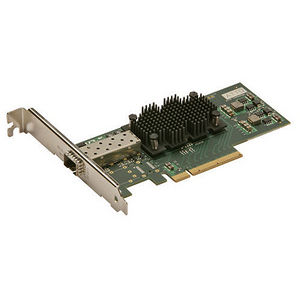 ATTO FFRM-NS11-000 Fast Frame Single Channel 10GbE to x8 PCIe 2.0 LP Adapter, LC SFP+ included