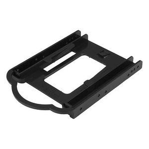StarTech BRACKET125PT 2.5in SSD/HDD Mounting Bracket for 3.5in Drive Bay - Tool-less Installation