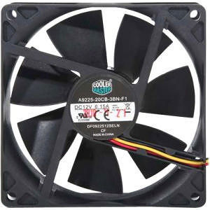 Cooler Master R4-S9S-19AK-GP Sleeve Bearing 92mm Silent Fan for Computer Cases and CPU Coolers
