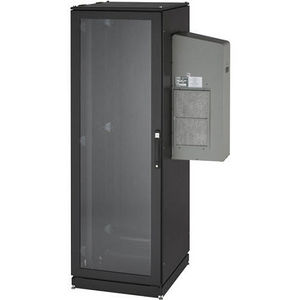 Black Box CC42U5000T-R2 ClimateCab NEMA 12 Server Cabinet with Tapped Rails - 42U