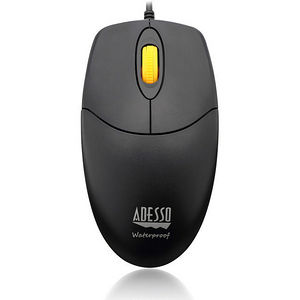 Adesso IMOUSEW3 iMouse W3 - Waterproof Mouse with Magnetic Scroll Wheel