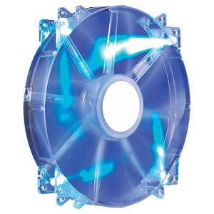 Cooler Master R4-LUS-07AB-GP MegaFlow 200 - Sleeve Bearing 200mm Blue LED Silent Fan