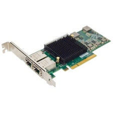 ATTO FFRM-NT12-000 Fast Frame Dual Channel 10GbE to x8 PCIe 2.0 LP Ethernet Adapter, RJ45 Interface