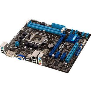 ASUS P8H61-M LE/CSM R2.0 Desktop Motherboard - Intel Chipset - Socket H2 LGA-1155