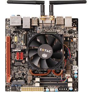 ZOTAC D2550ITXS-A-E Desktop Motherboard - NM10 Express Chipset - Intel Atom D2550 2 Core 1.86 GHz