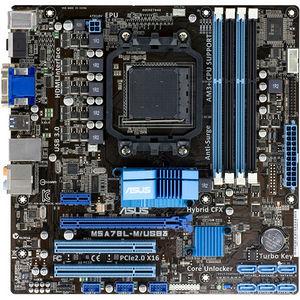ASUS M5A78L-M/USB3 Desktop Motherboard - AMD Chipset - Socket AM3+