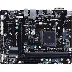 GIGABYTE AM1M-S2H Ultra Durable GA- Desktop Motherboard - AMD Chipset - Socket AM1