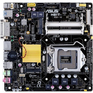 ASUS H81T/CSM/C/SI Desktop Motherboard - Intel Chipset - Socket H3 LGA-1150 - Retail Pack