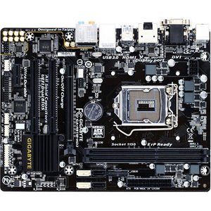 GIGABYTE GA-H81M-HD3 Desktop Motherboard - Intel H81 Chipset - Socket H3 LGA-1150