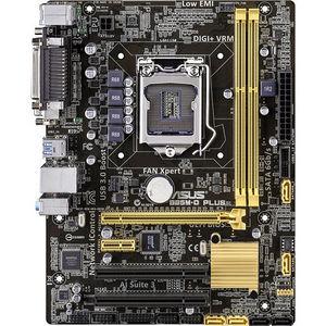 ASUS B85M-D PLUS Desktop Motherboard - Intel Chipset - Socket H3 LGA-1150