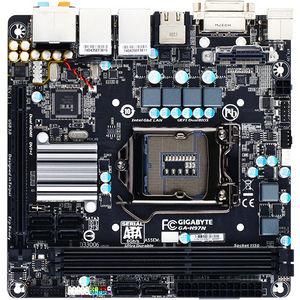 GIGABYTE GA-H97N Ultra Durable Desktop Motherboard - Intel H97 Express Chipset - Socket H3 LGA-1150