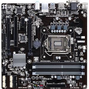 GIGABYTE GA-B85M-DASH Desktop Motherboard - Intel B85 Express Chipset - Socket H3 LGA-1150
