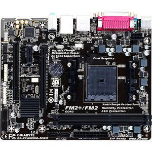 GIGABYTE GA-F2A68HM-DS2H Ultra Durable 4 Plus Desktop Motherboard - AMD A68 Chipset - Socket FM2+