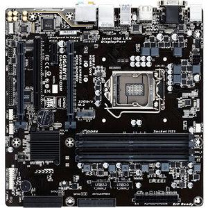 GIGABYTE GA-Q170M-D3H Ultra Durable Desktop Motherboard - Intel Q170 Chipset - Socket H4 LGA-1151